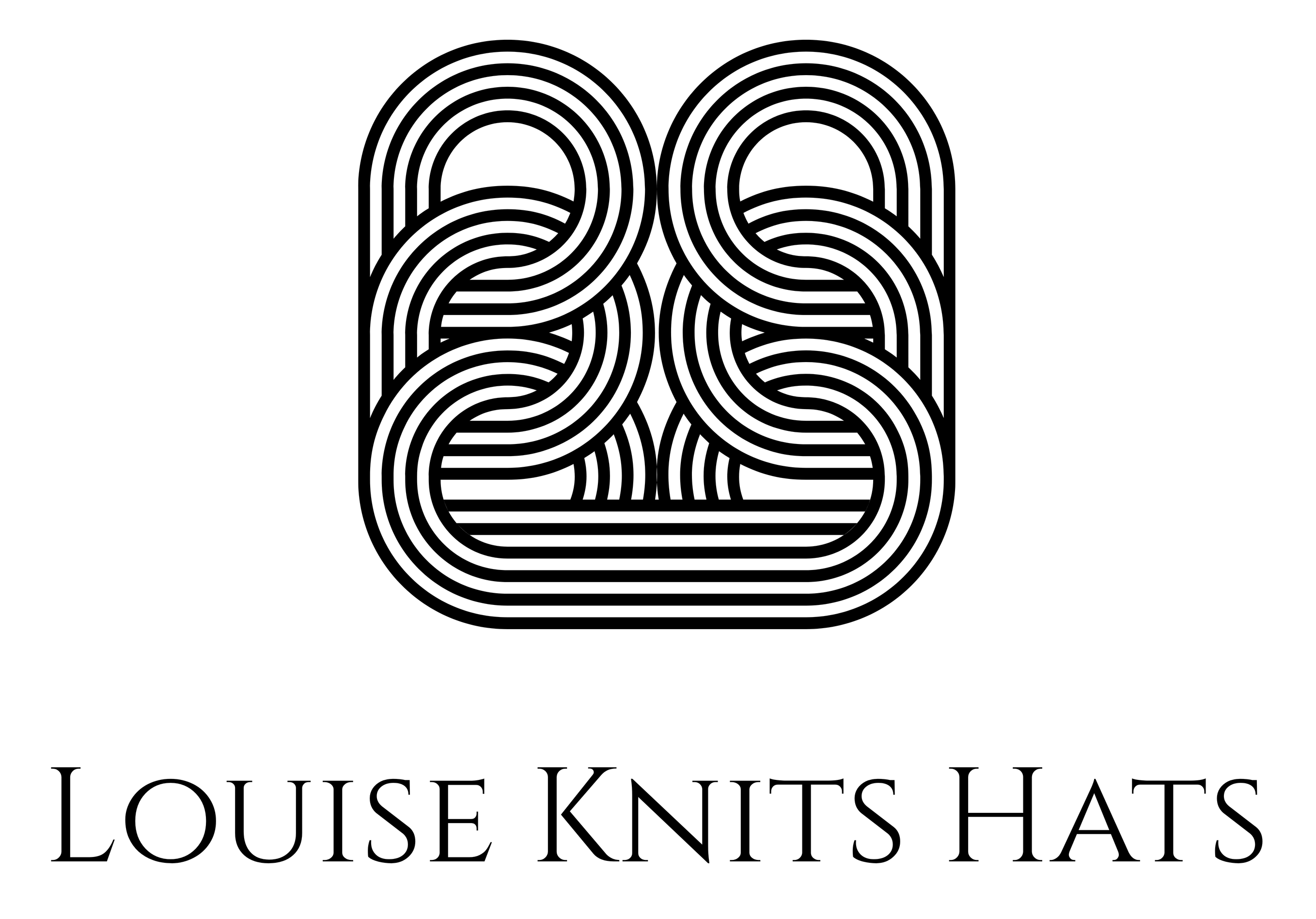 louise knits hats
